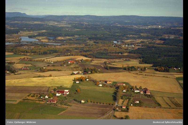 Frøyhov gård fotografert av Widerøe i 1966
