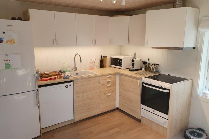 Kjøkken ferdig montert